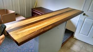 rustic table tops made from mahogany walnut and cherry wood