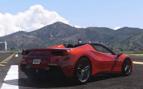 ferrari j50 interior ferrari 488 gts add on replace tuning gta5 mods com