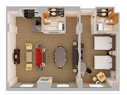 suite room hotel plan