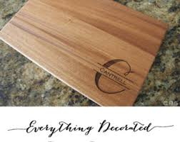 personalized cutting board wedding view cutting boards by everythingdecorated on etsy