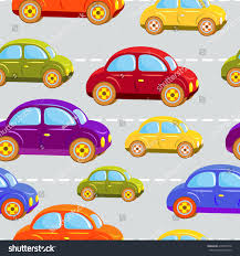 rainbow cars toy car kids cars all colors stock vector 414632074 shutterstock