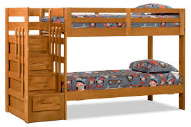 sofa becomes bunk bed ponderosa staircase bunk bed the brick