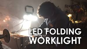 winplus led utility light review winplus led folding work light youtube