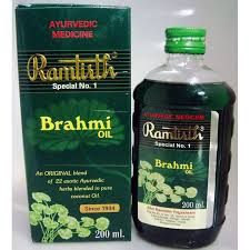 ramtirth brahmi hair oil ayurvedic herbal hair oil 200 ml