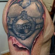 tattoo 3d mechanical 92 innovative bio mechanical tattoos on shoulder