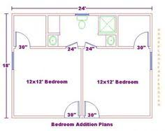 Bedroom Additions Floor Plans House Plans With His And Her Bathrooms And Closets Yahoo Search