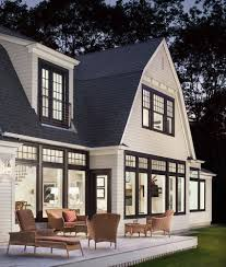 dutch colonial homes white houses with black window trim black window trims modern