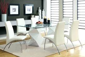 glass top dining table set 6 chairs glass top dining tables glass top dining room set astounding
