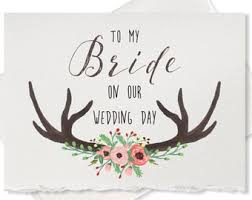 Wedding Day Cards From Groom To Bride Wedding Day Card To My Groom On Our Wedding Day Message For