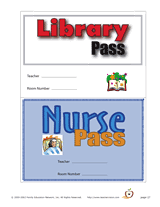Bathroom Pass Template Classroom Passes And Notes Teachervision