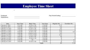 best photos of excel template employee card employee time card
