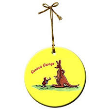 curious george ornaments set of 6 home