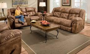 Brown Leather Recliner Sofa Flexsteel Leather Furniture Power Recliner Sofa Power Sofa