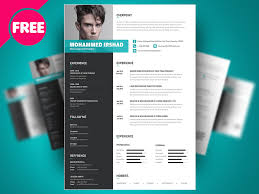 psd resume template free psd resume cv template design by mohammed shahid dribbble