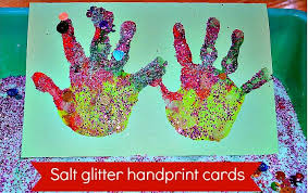 christmas crafts for kids homemade christmas cards with glitter