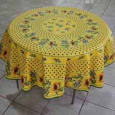 La Cigale Acryliccoated Provençal Tablecloths - Table cloth design