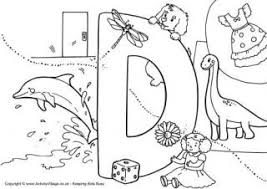 I Spy Alphabet Colouring Pages Pages To Colour In