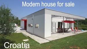 for sale new modern house in croatia 2 km from the sea 3 bed