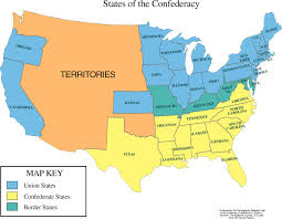 map us states during civil war us map in the civil war map of us states civil war 82 vector with