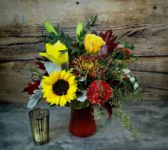Bouquet Of Flowers In Vase Saint Cloud Florist Flower Delivery By St Cloud Floral