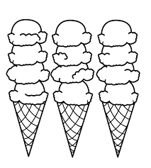 coloring page cone coloring pages fablesfromthefriends