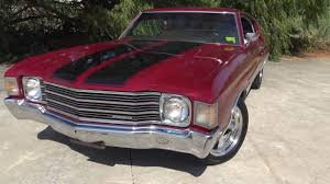 1972 chevrolet chevelle malibu 350 sport coupe youtube