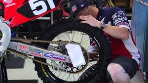 how to adjust and lube your chain transworld motocross youtube