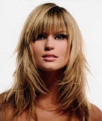 long hairstyles with bangs and blunt layers 17 best ideas about