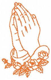 praying embroidery design instant praying