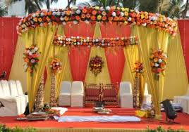 hindu decorations for home simple hindu marriage stage decoration in marriage