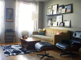 lounge chair for living room wonderful the eames lounge chair in small nyc apartments and other