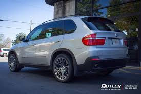Bmw X5 Custom - bmw x5 with 20in lexani css16 wheels exclusively from butler tires