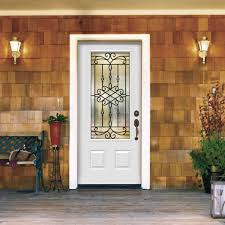 jeld wen craftsman smooth 3 panel primed molded prehung awesome jeld wen 6 lite entry door pictures ideas house design
