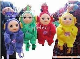 Teletubby Halloween Costumes Teletubbies Doll Backpack Kid Child Bag Soft Plush Figure