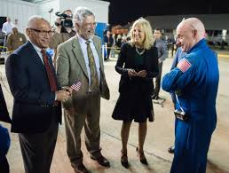 is nasa u0027s scott kelly allowed to take his blue jumpsuit off