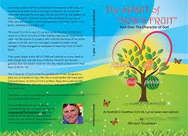 the spirit of god u0027s fruit by michael nicodemus 42 95