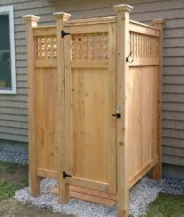 Outdoor Shower Enclosure Camping - 41 best home outdoor shower inspiration images on pinterest