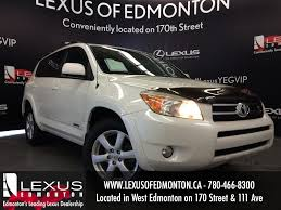 lexus nx and toyota rav4 used white 2006 toyota rav4 auto v6 4wd limited review