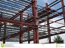 steel building stock photo image 57189310