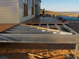 wrap around deck plans 29 best steel frame deck exles images on steel