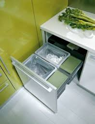 swing out recycling bin system pantry and kitchen organization