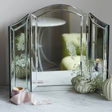 table mirror stainless steel intended decor