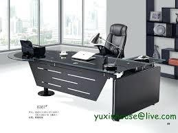 Commercial Office Furniture Desk Glass Office Furniture Desk Tempered Table Modern Obakasan Site