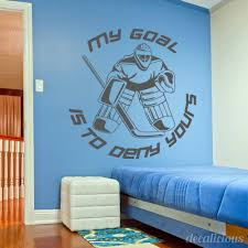 hockey wall decal large decal custom name decal boys room hockey wall decal large decal custom name decal boys room children decor boy bedroom decal kids sports decal gifts for him