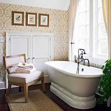 Wallpaper For Bathrooms Ideas Colors 158 Best Beautiful Baths Images On Pinterest Bathroom Ideas