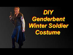 diy genderbent winter soldier costume youtube