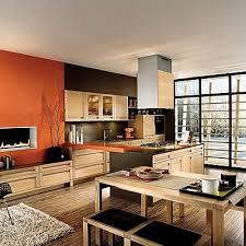 cuisine ouverte sur salon cuisine ouverte les cles de fascinant cuisines ouvertes sur salon