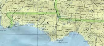Map Of Fort Walton Beach Florida by Map Of Alabama And Florida Panhandle Afputra Com