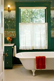Wainscoting Over Bathroom Tile Bathrooms With Character Arts U0026 Crafts Homes And The Revival