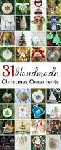 31 homemade christmas ornaments the kim six fix